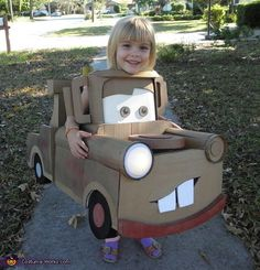 Mater the Tow Truck - Creative Halloween Costume-Tap The link Now For More Information on Unlimited Roadside Assistance for Less Than $1 Per Day! Get Over $150,000 in benefits!