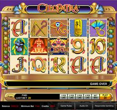 The Cleopatra slot by IGT has also had several versions created, with one of the them using the popular 80s band The Bangles' song 'Walk like an Egyptian' during the free games bonus feature. See more at http://www.slotreviewonline.com/2012/01/review-of-cleopatra-slot-machine-by-igt/