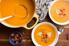 Bacon-Sweet Potato Soup