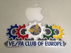 Badge Vespa Club Europe