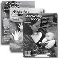 When you order these three issues of Midwifery Today you'll learn some of the ways birth can be made a beautiful, gentle life experience for both mother and baby. A $30 value for just $22, this package includes Issue 50 on Homebirth,Issue 54 on Waterbirth and Issue 58 on Mamatoto (Mother/Baby)