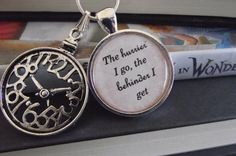 The hurrier I go the behinder I get Alice in by chickylovit, $11.00