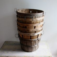 vintage orchard baskets