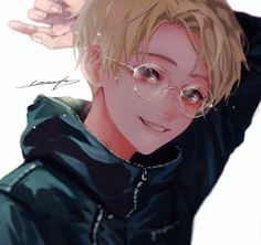 Image in anime-manga boy♣︎ collection by zillion Manga Boy, Manga Anime, Anime Nerd, Anime Boys, Cute Anime Boy, Kawaii Anime, Anime Boy Zeichnung, Anime Guys With Glasses, Image Manga