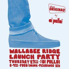 82cff3283e537 RA  Clarks Originals by Oi Polloi Wallabee Ridge Launch Party at Oi Polloi