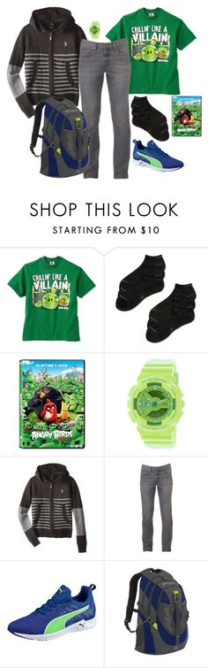 """""""angry issues"""" by sterlingkitten on Polyvore featuring Calvin Klein, G-Shock, U.S. Polo Assn., Urban Pipeline, Puma, men's fashion and menswear"""