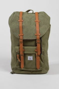 cff6c3020152 Udah dibeliin  D Shop for Bags at Incu   Little America Bag in Washed Army  by Herschel Supply Co   Incu