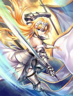 Ruler - Fate Grand Order [fate series, jeanne d'arc, visual novel, anime girls]
