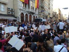 #direngazeteci gazeteciler Taksim'de eylemde 12.07.2013