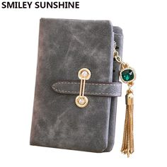 885e9892d197 Women Coin Purses Holders Long Vintage Leather Zipper Ladies Coin Pouch  Money Coin Case Female Small
