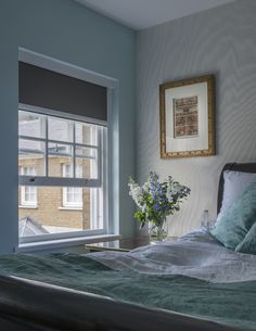 Bedroom | Interior Design of Private House Tarrant Place, London UK by Bart Eyking