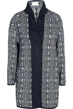 Étoile Isabel Marant|Ebba cotton-blend blanket coat|NET-A-PORTER.COM