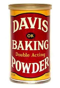 Davis Baking Powder is double acting and can be used as a leavening agent in baked goods. Use accordingly with recipes. Baking Tips, Baking Blogs, Baking Ideas, Soda Bread, Slow Food, What To Cook, Gourmet Recipes, Bread Recipes, Canning Recipes