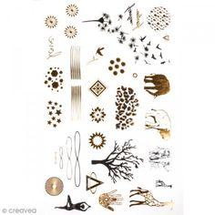 Tatuaje temporal Bisutería  - Naturaleza y animales  - 34 tatuajues - Fotografía n°1