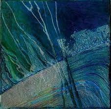 collagraph by Brenda Hartill