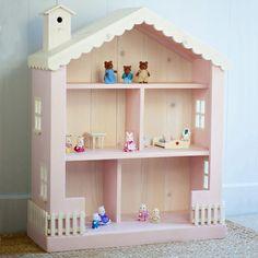 Cottage Dollhouse Bookcase