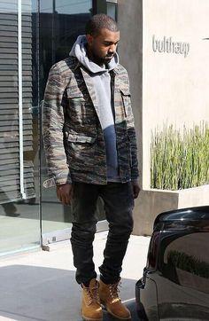 APC Tiger Camo Jacket. Kanye West.
