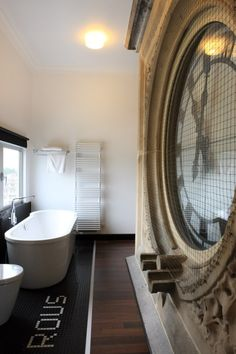 Submitted bynonconcept:Hotel Gent in Belgium by Tazu Rous Architects. | Bathroom | life1nmotion