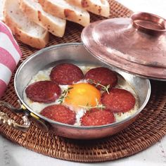 Turkish Breakfast - Sucuklu Yumurta