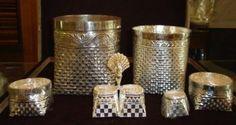 Nagarathar Baskets Reproduced In Silver