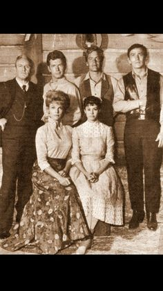 The Virginian cast Doug Mcclure, James Drury, Actor James, The Virginian, Tv Westerns, Hazel Eyes, Baby Grows, Movies And Tv Shows, Brown Hair