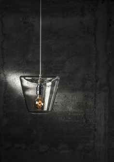 Products 2015 - Lucy - Suspension lamp / Hanging pendant - Pure glass handmade - Suitable also for vintage lamps - Beautiful and simple chic for home decor - Design by ILIDE (www.ilide.it)