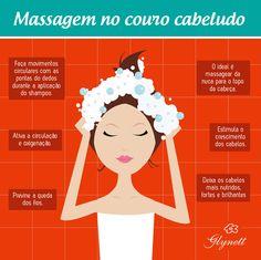Confira por que as massagens são tão importantes para os cabelos. #dicasparacabelos