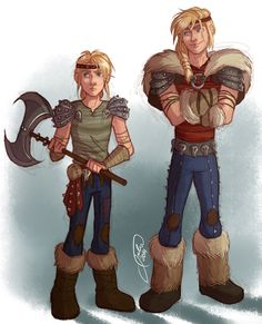 Seriously, this is INSANELY good! Astrid Genderbent