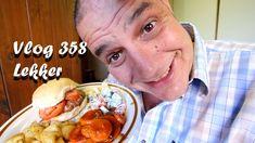 Vlog 358 Lekker - The Daily Vlogger in Afrikaans 2018 Afrikaans, Ethnic Recipes, Food, Random, Essen, Meals, Yemek, Casual, Eten