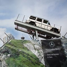 The Iron Schöckl shows you just a fraction of the G-Class' fearless power. Fans learn first hand that there are no inclines or drop offs that the G550 can't conquer.