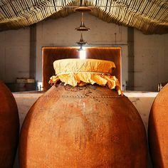 Vinho da talha (wine made the way the romans used to) - Alentejo, portugal…