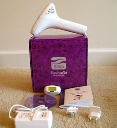 BEFORE/AFTER PHOTOS: Review, Silk'n Flash & Go Permanent Hair Removal Device #bstat