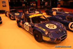 Grande rétrospective Alpine à Rétromobile 2014