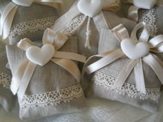 bomboniere Lavender Bags, Lavender Sachets, Wedding Favors, Party Favors, Wedding Gifts, Burlap Lace, Christening Gifts, Gift Hampers, Christmas Crafts For Kids
