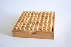 Sodoku Game  Wooden game Christmas gift by siamcollection on Etsy, $22.95