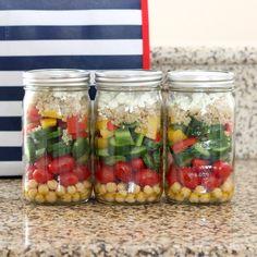 A wonderful collection of Mason Jar food ideas, with a few craft ideas for using Mason Jars in interesting ways.