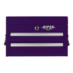 The Original Pink Box – Purple 18-Inch 2-Drawer Mini Chest – NEW!