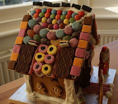 Icing Bliss: Gingerbread House