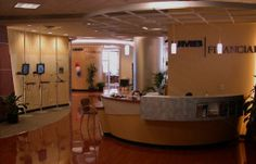 Financial Office Lobby   Exhibit Associates :: Lobby Displays