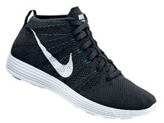 Release Date // Nike Lunar Flyknit Chukka - Black/White-Neo Turquoise | Sole Collector
