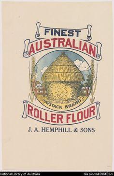 The 5 lb. flour bag… J. Vintage Food, Vintage Labels, Vintage Ads, Vintage Images, Vintage Posters, Notebooks, Journals, Flour Sacks, Australian Vintage