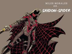 Miles Morales as Shadow-Spider Comic Book Characters, Comic Books, Fictional Characters, Miles Morales Spiderman, Teen Fashion, Champion, Superhero, Comics, Comic Book