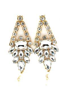 Deco Chandelier Earrings.
