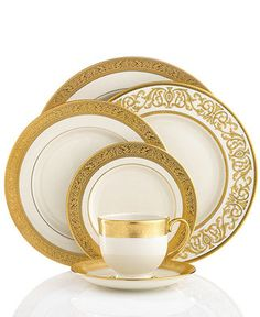Lenox Dinnerware, Westchester Collection - Fine China - Dining & Entertaining - Macy's
