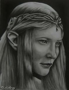Galadriel, Queen of the Elves - The Art Colony