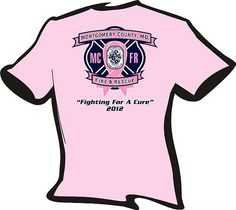 Pink tee shirts you may see some of our MCFRS Firefighters in to support breast cancer awareness.