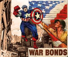 Captain America War Bonds