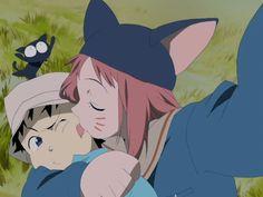 FLCL hehe @ myu-myu in the background xD , Old Anime, Anime Manga, Anime Art, Flcl Manga, Fanarts Anime, Anime Characters, Anime Friendship, Anime Screenshots, Anime Couples