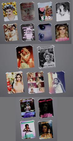 """electraheartsims: """" In honor of Marina and the Diamonds's Electra Heart Era ending I have decided to make posters to remember Electra. Posters can be found in wall decorations under the decor section. Sims 4 Teen, Sims Four, Sims Cc, Mods Sims, Sims 4 Game Mods, Sims 4 Cc Kids Clothing, Sims 4 Mods Clothes, Muebles Sims 4 Cc, The Sims 4 Packs"""