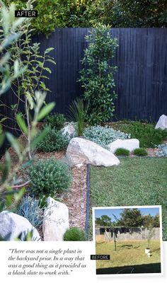 My Backyard Makeover (Adore Magazine) Australian Garden Design, Australian Native Garden, Landscaping Supplies, Backyard Landscaping, Backyard Ideas, Landscaping Ideas, Balcony Garden, Garden Beds, Back Gardens